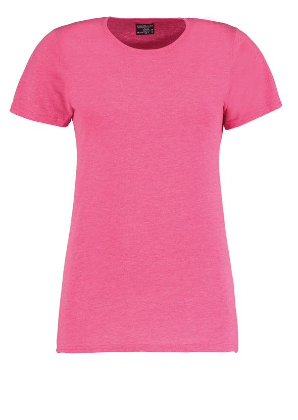 KK754 - Women's Superwash® 60° T-shirt Womens T-Shirts Kustom Kit Pink Marl 8