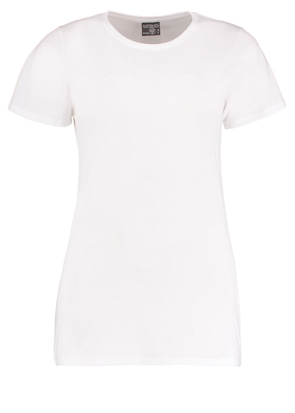 KK754 - Women's Superwash® 60° T-shirt Womens T-Shirts Kustom Kit White 8