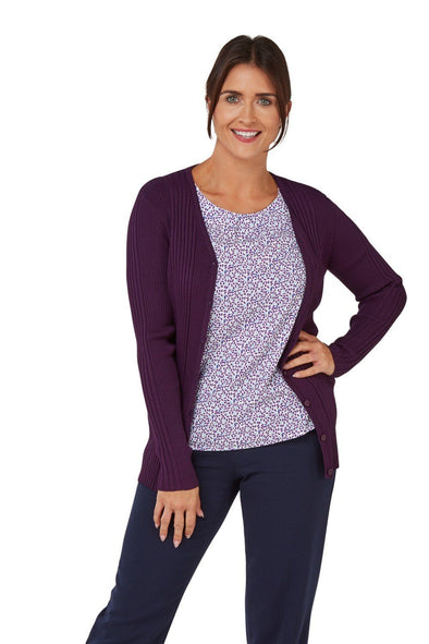 Kristin Cardigan Womens Knitwear Vortex Designs
