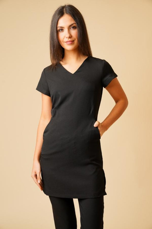 Lena Tunic Beauty Tunics La Beeby Black 6