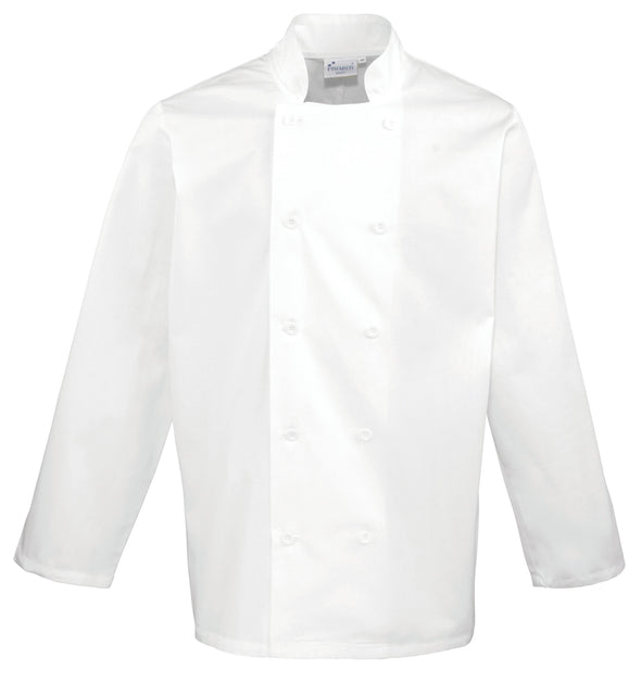 Long Sleeve Chefs Jacket Chefs Jacket Premier White XS
