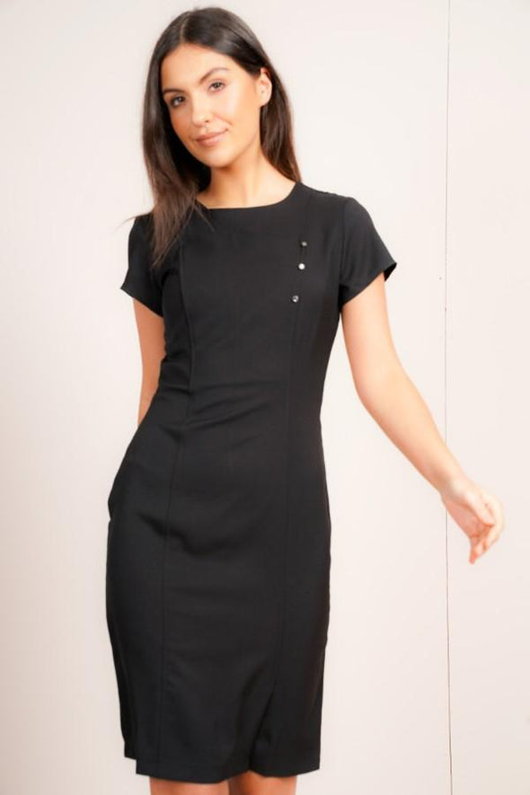 Madeleine Dress Beauty Dresses La Beeby Black 6