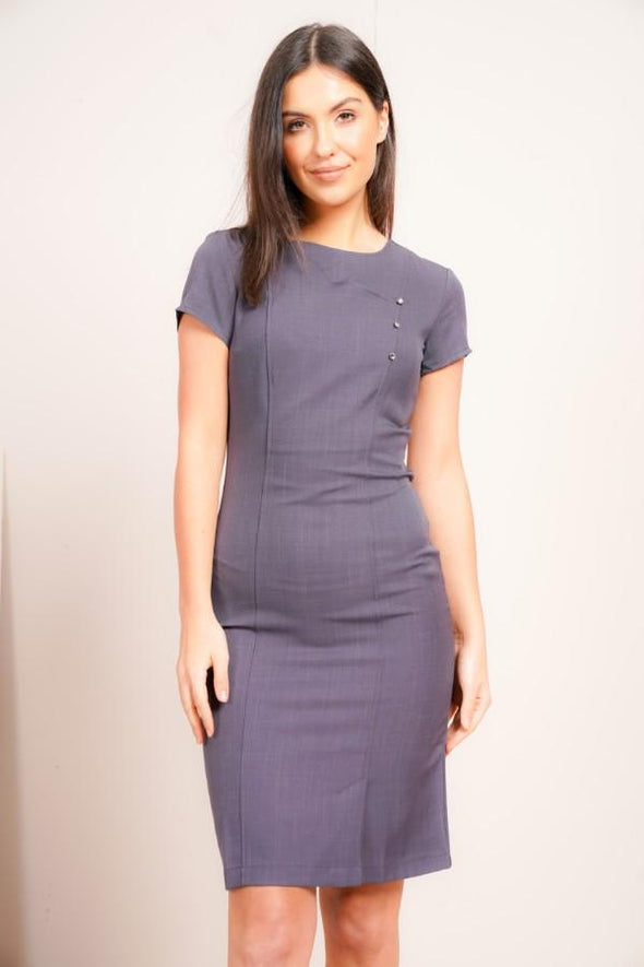 Madeleine Dress Beauty Dresses La Beeby Grey 6