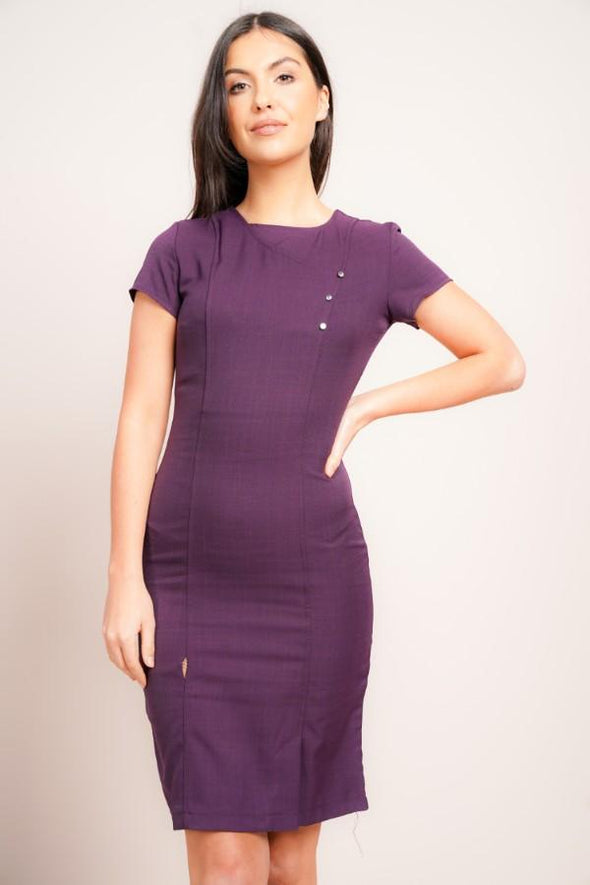 Madeleine Dress Beauty Dresses La Beeby Plum 6