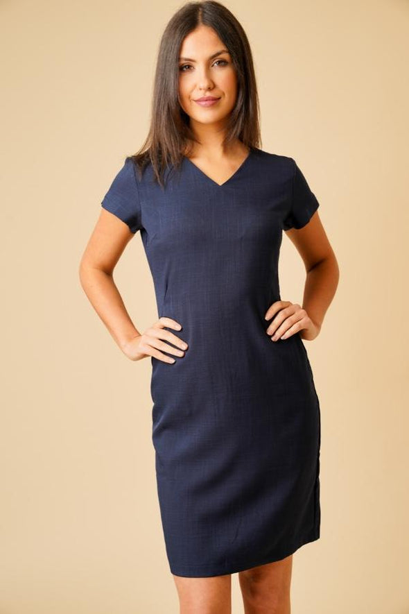 Manon Dress Beauty Dresses La Beeby Navy 6