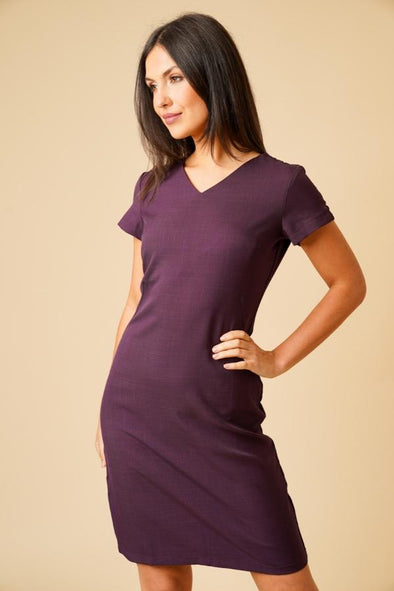 Manon Dress Beauty Dresses La Beeby Plum 6