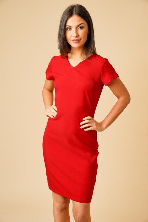 Manon Dress Beauty Dresses La Beeby Red 6