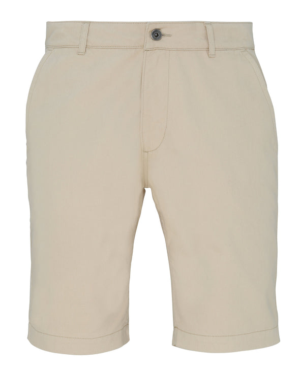 Mens Chino Shorts Mens Chinos Asquith & Fox Natural XS
