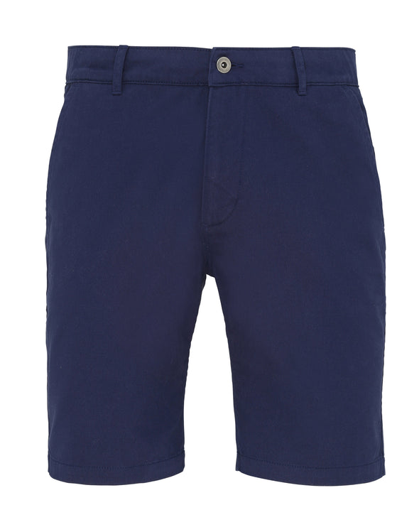 Mens Chino Shorts Mens Chinos Asquith & Fox Navy XS