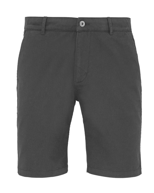 Mens Chino Shorts Mens Chinos Asquith & Fox Slate XS