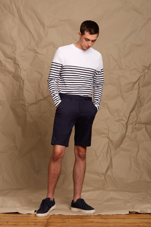 Mens Stretch Chino Shorts Mens Chinos Front Row & Co