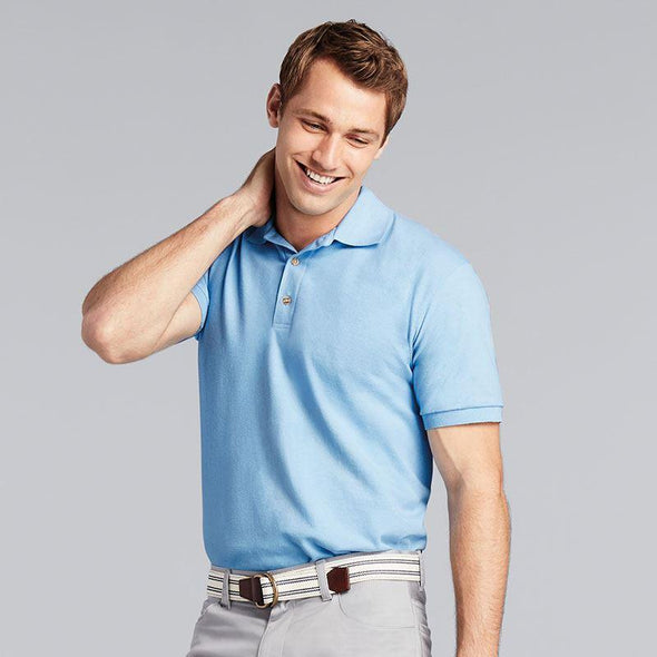 Mens Ultra Cotton Ringspun Pique Polo Mens Polos Gildan