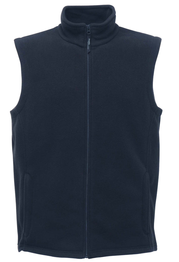 Microfleece Bodywarmer Mens Bodywarmers Regatta Professional Dark Navy S