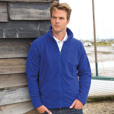 Microfleece Jacket Mens Fleeces Result Core