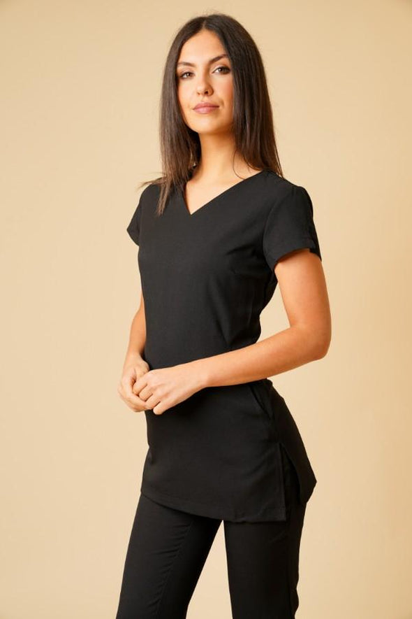 Nina Tunic Beauty Tunics La Beeby Black 6