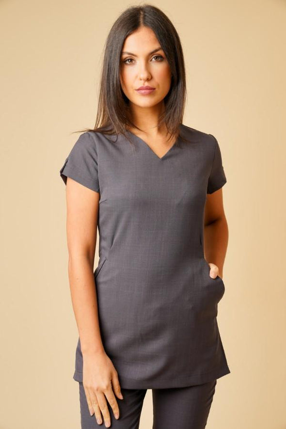 Nina Tunic Beauty Tunics La Beeby Grey 6