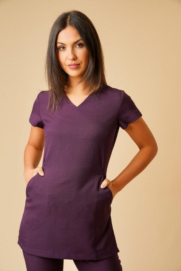 Nina Tunic Beauty Tunics La Beeby Plum 6