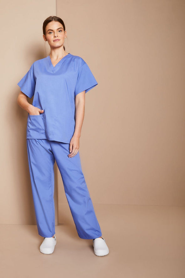 NST - Unisex Reversible Scrub Top The Staff Uniform Company
