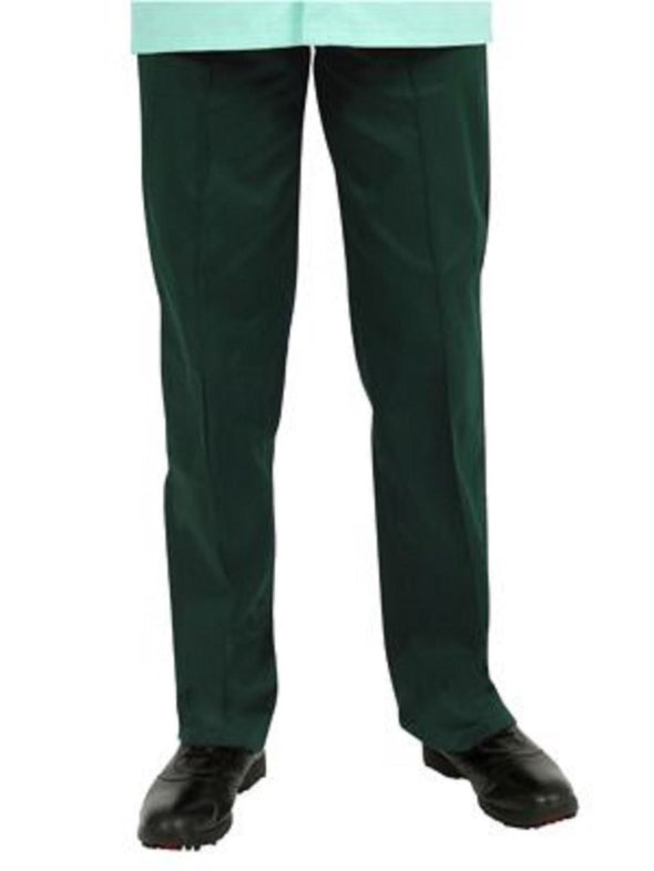 "NSTR - Unisex Smart Scrub Trouser (Long 33"" Leg) Scrubs Behrens Bottle Green XS"