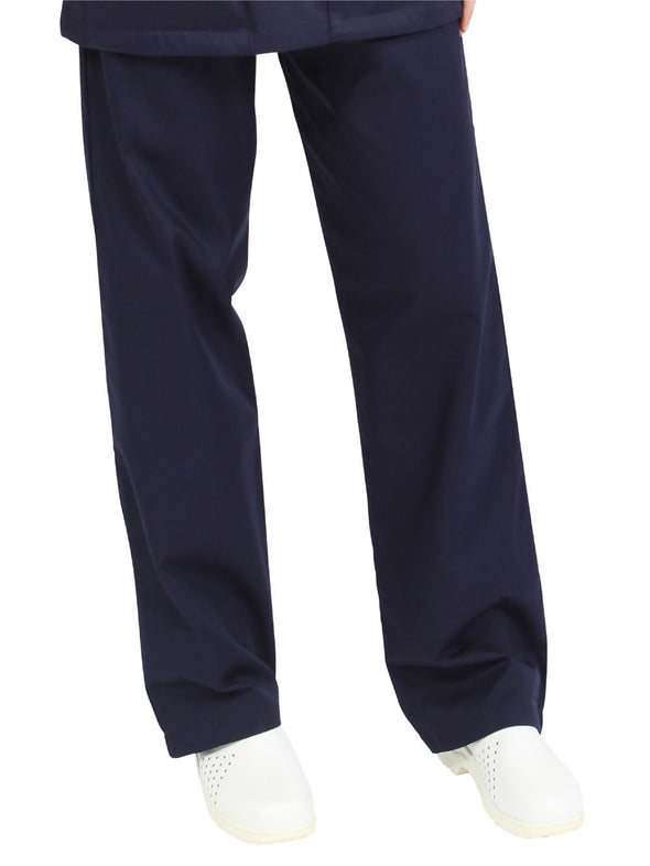 "NSTR - Unisex Smart Scrub Trouser (Long 33"" Leg) Scrubs Behrens Navy XS"