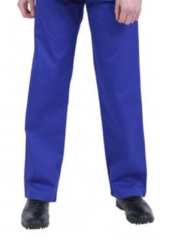 "NSTR - Unisex Smart Scrub Trouser (Long 33"" Leg) Scrubs Behrens Royal Blue XS"