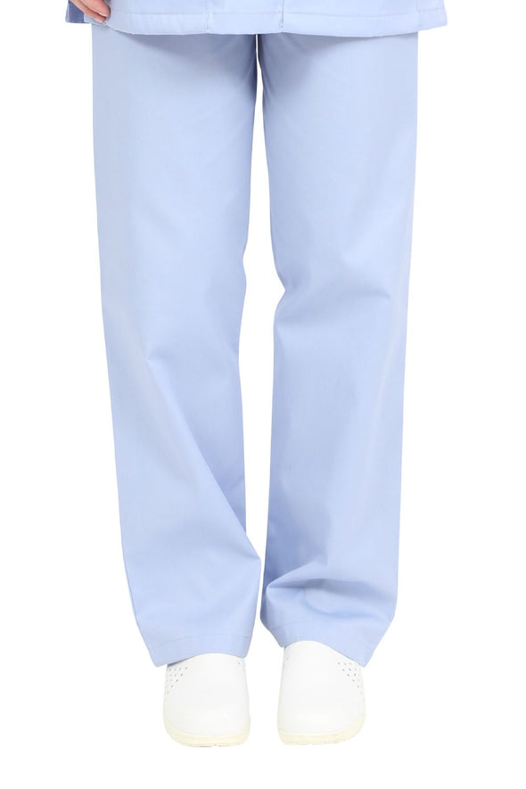 "NSTR - Unisex Smart Scrub Trouser (Long 33"" Leg) Scrubs Behrens Sky Blue XS"