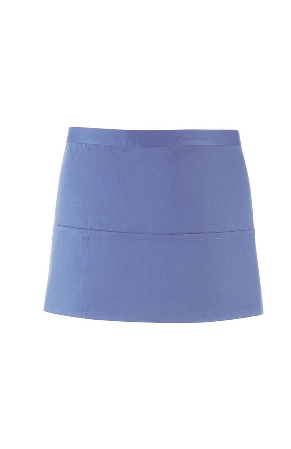 PR155 - Colours 3 Pocket Apron Aprons Premier Mid Blue