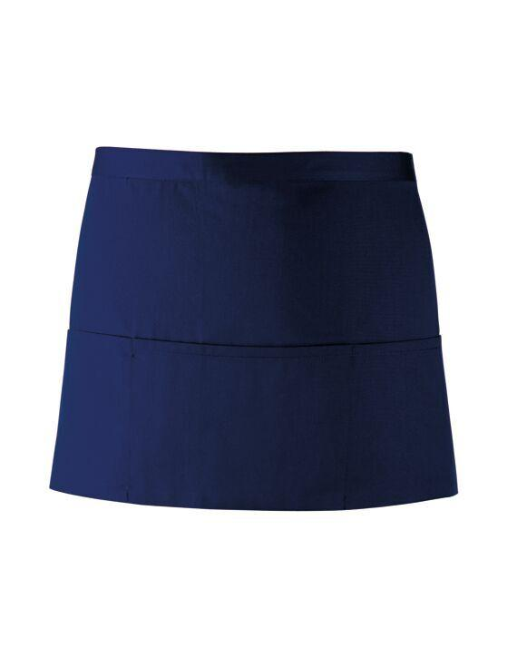 PR155 - Colours 3 Pocket Apron Aprons Premier Navy