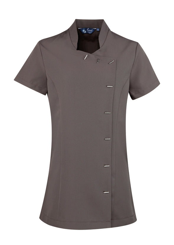 PR682 - Orchid Beauty Tunic Beauty Tunics Premier Dark Grey 6