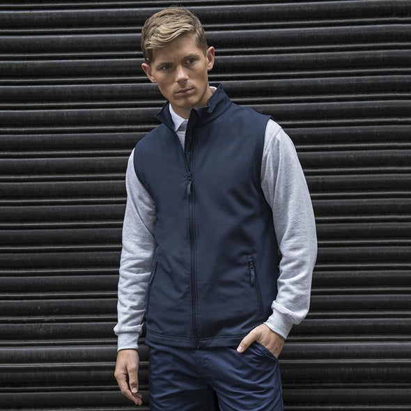 Pro 2-Layer Softshell Gilet Workwear ProRTX Navy S