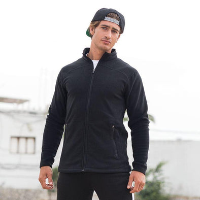 SF Microfleece Jacket Mens Fleeces SkinnyFit