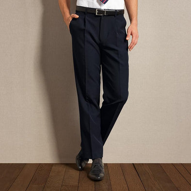 Single Pleat Polyester Trousers Hospitality trouser Premier
