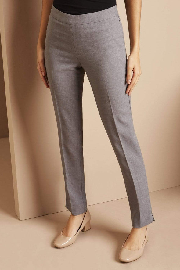 Slim Leg Beauty Trouser Salon & Spa Trousers Simon Jersey Grey 6 Regular