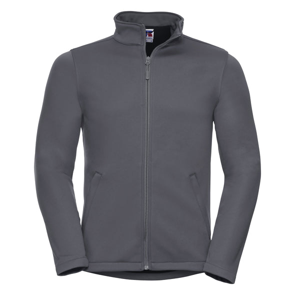 Smart Softshell Jacket Mens Softshell Jackets Russell Convoy Grey XS