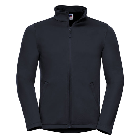 Smart Softshell Jacket Mens Softshell Jackets Russell French Navy XS