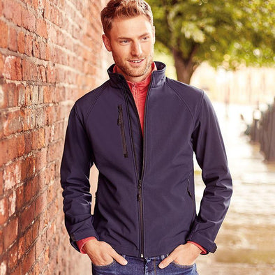 Softshell Jacket Mens Softshell Jackets Russell
