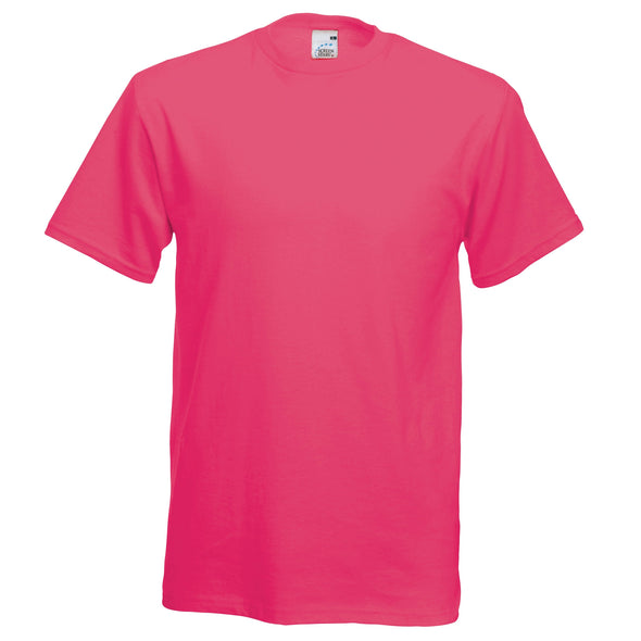 SS048 - Original T-Shirt Mens T-Shirts Fruit of the Loom Fuchsia S