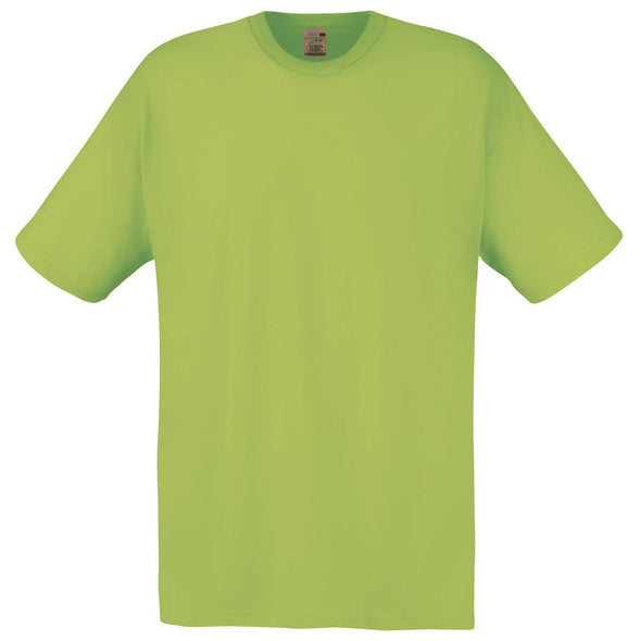 SS048 - Original T-Shirt Mens T-Shirts Fruit of the Loom Lime S