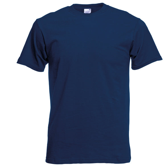 SS048 - Original T-Shirt Mens T-Shirts Fruit of the Loom Navy S