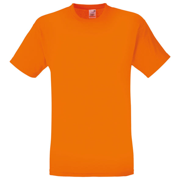 SS048 - Original T-Shirt Mens T-Shirts Fruit of the Loom Orange S
