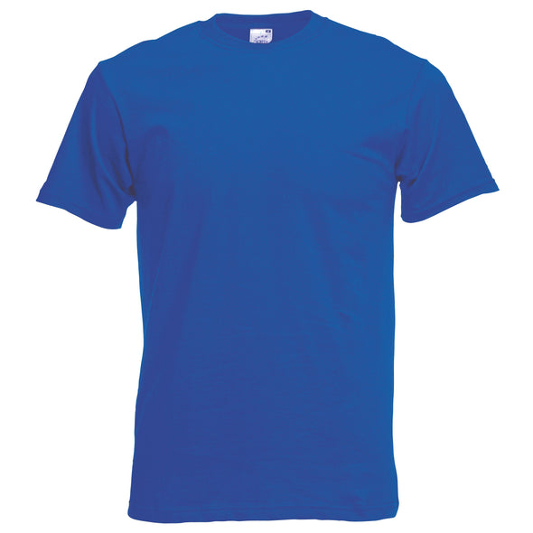 SS048 - Original T-Shirt Mens T-Shirts Fruit of the Loom Royal Blue S
