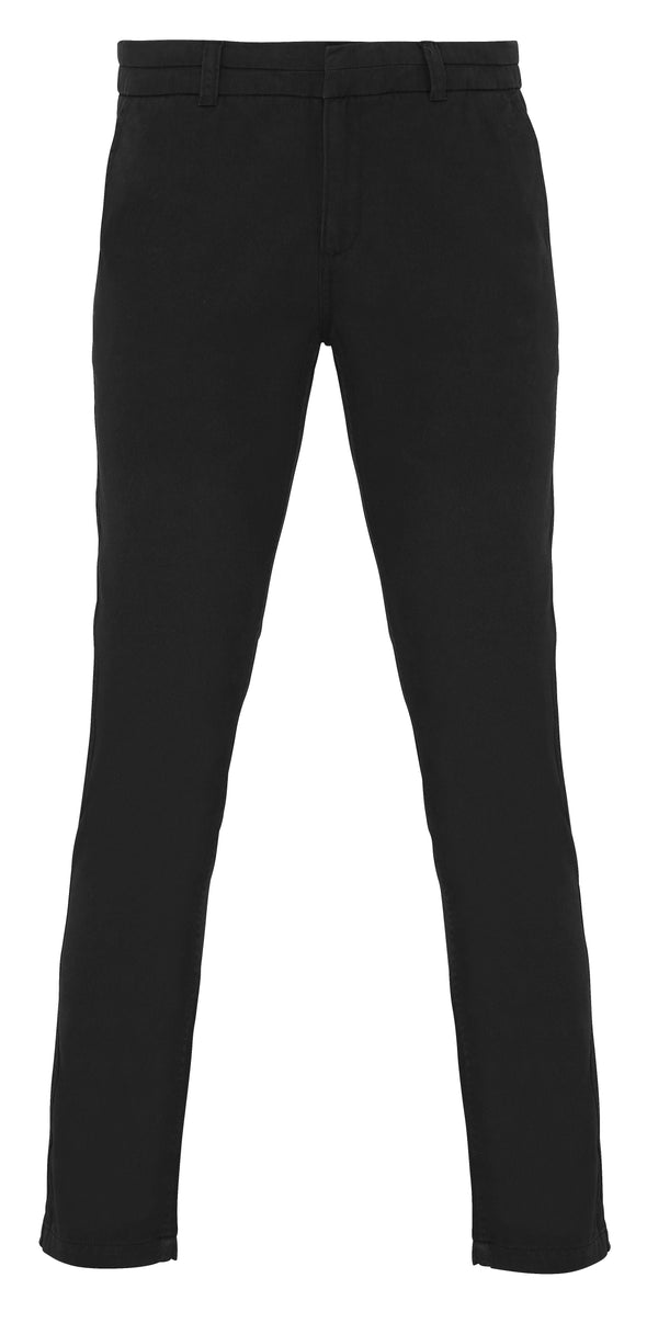 Womens Chinos Womens Chinos Asquith & Fox Black 2XS