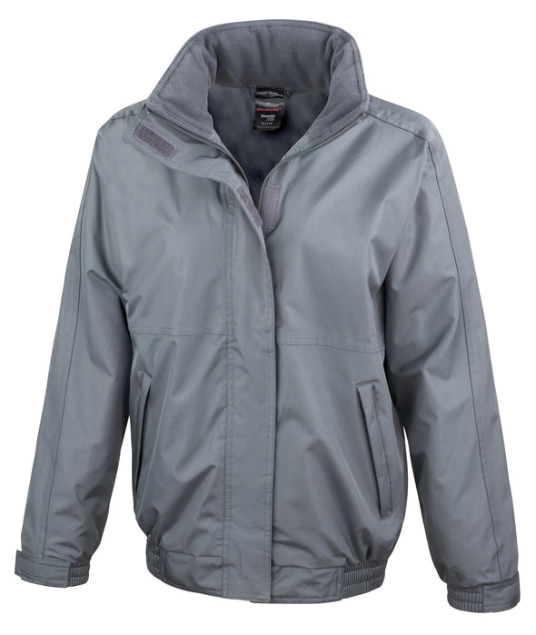 Womens Core Channel Jacket Womens Coats Result Core Grey XS