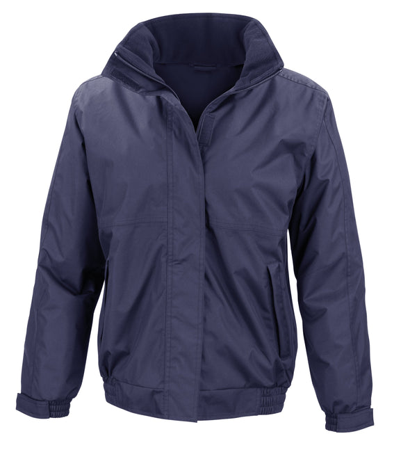 Womens Core Channel Jacket Womens Coats Result Core Navy XS