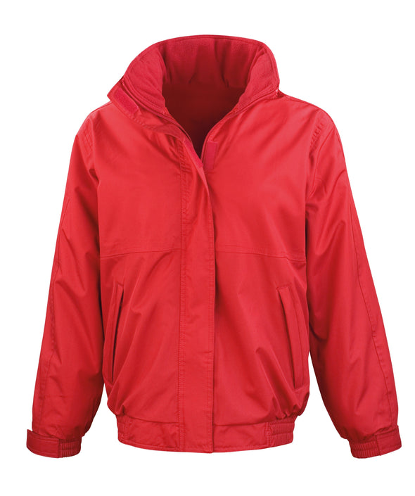 Womens Core Channel Jacket Womens Coats Result Core Red XS