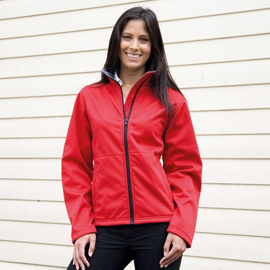 Womens Core Softshell Jacket Womens Softshell Jackets Result Core