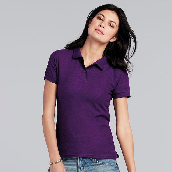 Womens Dryblend Double Pique Polo Womens Polos Gildan
