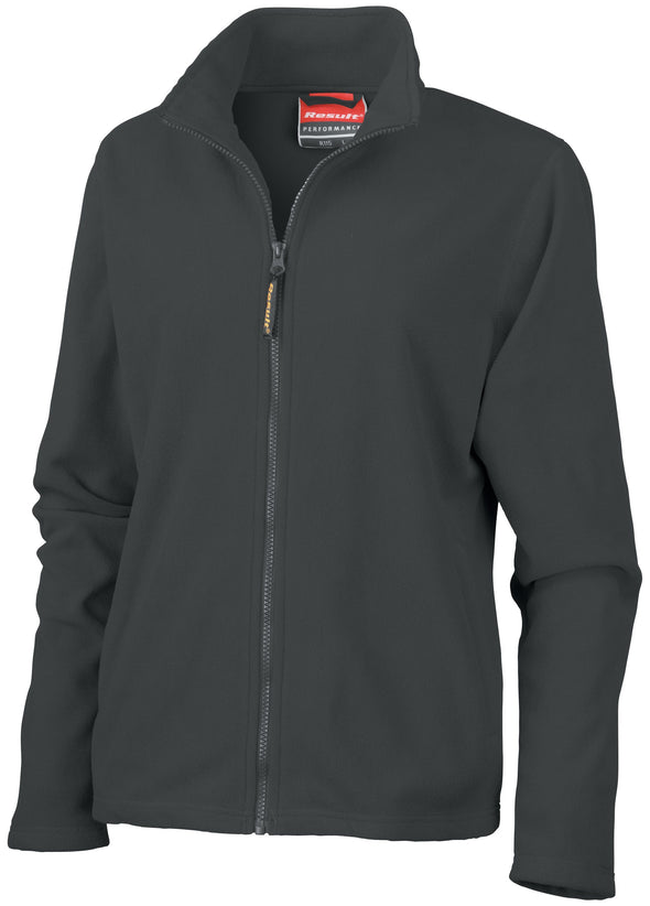 Womens Horizon High Grade Microfleece Jacket Womens Fleeces Result Black XS