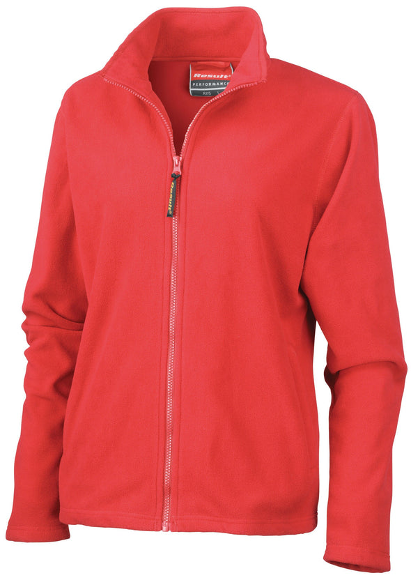 Womens Horizon High Grade Microfleece Jacket Womens Fleeces Result Cardinal red XS