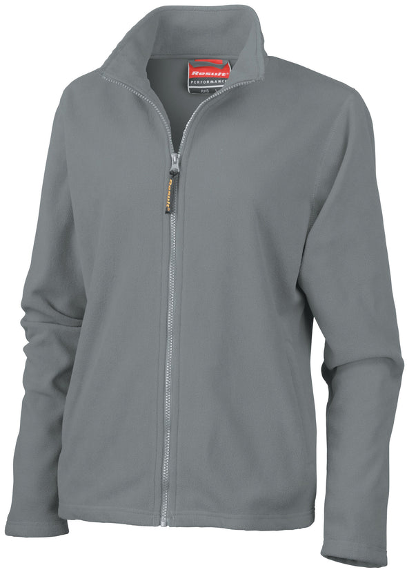 Womens Horizon High Grade Microfleece Jacket Womens Fleeces Result Dove Grey XS